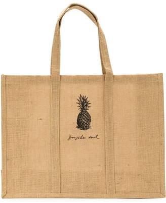 OSKLEN pineapple print tote bag