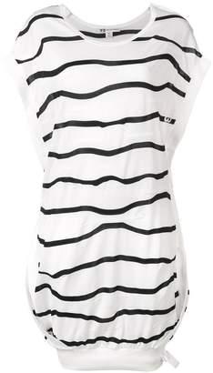 Y-3 striped sweatshirt dress