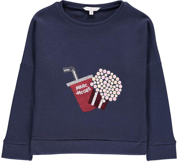 Little Marc JacobsLITTLE MARC JACOBS Sequins Popcorn Sweatshirt
