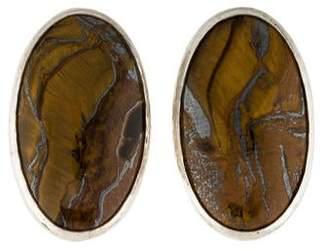 Gurhan Galapagos Tiger's Eye Earrings
