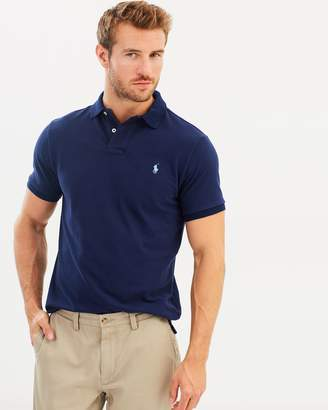 Polo Ralph Lauren Basic Mesh Custom Slim Fit Polo