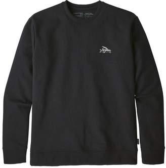 Patagonia Men's Small Flying Fish Uprisal Crew Sweatshirt