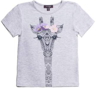 Imoga Youth Girl's Amita Tee - Giraffe Melange