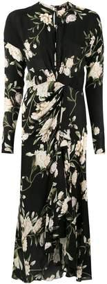 Johanna Ortiz floral print midi dress