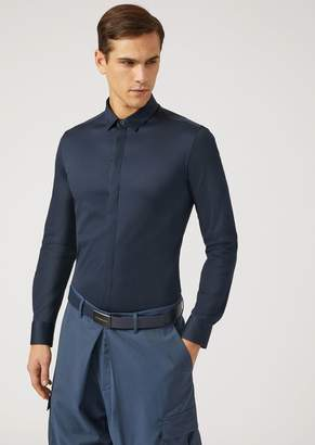 Emporio Armani Cotton Jersey Shirt