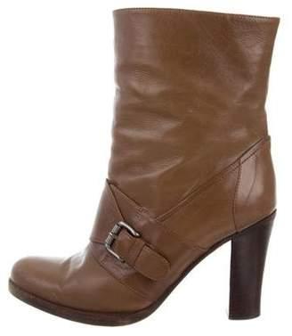 Marni Mid-Calf Buckle Boots