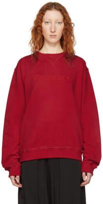 J.W.Anderson Red Logo Sweatshirt