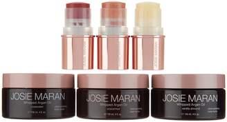 Josie Maran Whipped Argan Body Butter & Color Stick 6-pc Travel Set