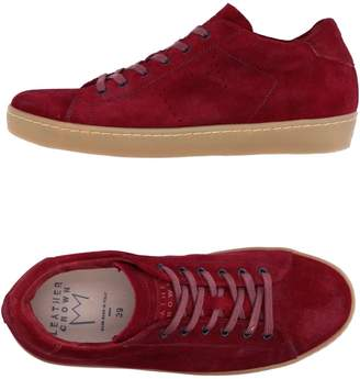 Leather Crown Low-tops & sneakers - Item 11282491IT