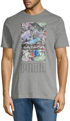 Puma Men's Photoprint Shoe Short-Sleeve Tee