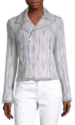 Elie Tahari Mae Tweed Knit Jacket