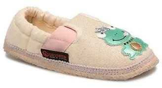 Giesswein Kids's Aldrans Slippers in Beige