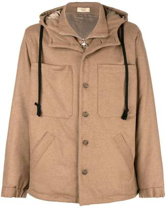 Maison Flaneur hooded coat