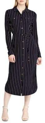Lauren Ralph Lauren Striped Jersey Shirtdress