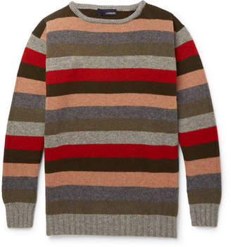 Lardini Striped Wool Sweater