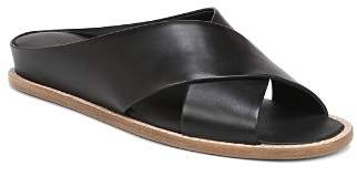 Vince Women's Fairley Leather Slide Sandals
