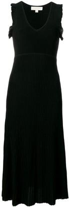 MICHAEL Michael Kors sleeveless flared pleated dress