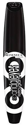 Rimmel Scandaleyes Retroglam Mascara, Extreme Black, 0.41 Fluid Ounce $5.49 thestylecure.com