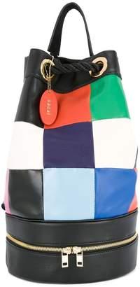 Sacai patchwork backpack
