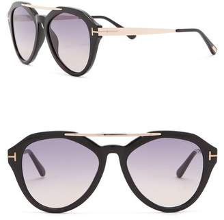 ff74a4936457 ... Tom Ford Women s Lisa 54mm Aviator Sunglasses
