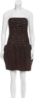 Rolando Santana Strapless Mini Dress w/ Tags