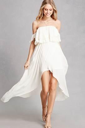Forever 21 FOREVER 21+ Tulip Off-the-Shoulder Dress