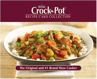 """Crock Pot Crock-Pot Recipe Card Collection"""" Tin"""
