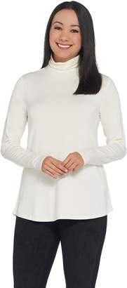 Halston H By H by Essentials Turtleneck Long Sleeve Top