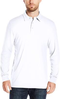 Cutter & Buck Men's Long Sleeve Belfair Pima Polo
