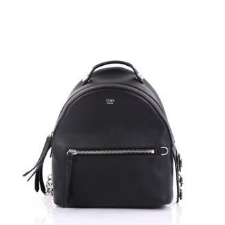 b18b2cf05bfb Fendi By The Way Black Leather Backpacks