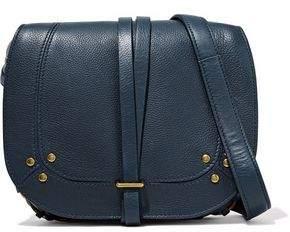 Jerome Dreyfuss Embellished Textured-Leather Shoulder Bag