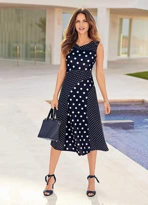 Kaleidoscope Spot Dress