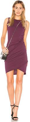 Bobi Supreme Jersey Wrap Dress
