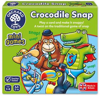 NEW Orchard Toys Mini Travel Game Crocodile Snap