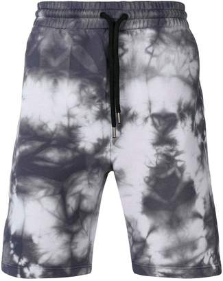 Palm Angels tie dye jogging shorts