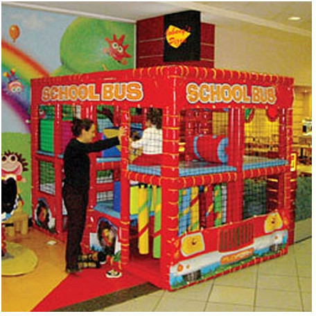 SportsPlay Tot Town Contained Bus Unit Playhouse