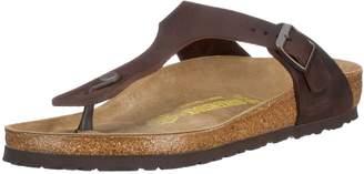 Birkenstock Women's Gizeh Cork Footbed Thong Sandal Brown 42 M EU
