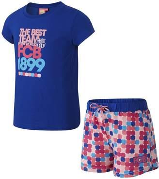 Nike FC Barcelona Two-Piece Younger Kids'(Girls') Pyjamas