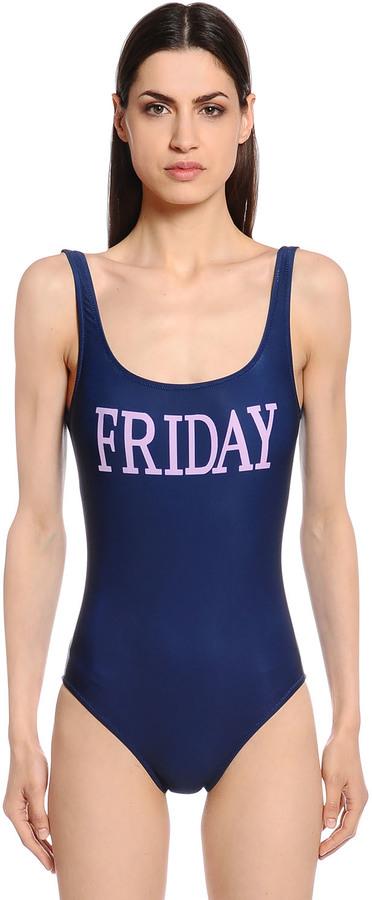 Alberta FerrettiFriday One Piece Swimsuit