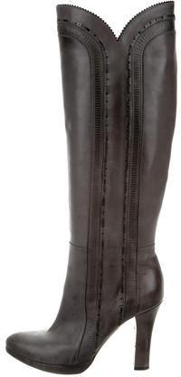Bottega VenetaBottega Veneta Knee-High Leather Boots