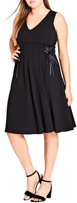 City Chic Fit & Flare Dress