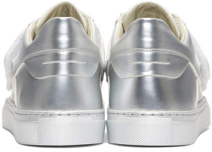 Mm6 Maison Martin Margiela Silver Mirror Sneakers Codipop