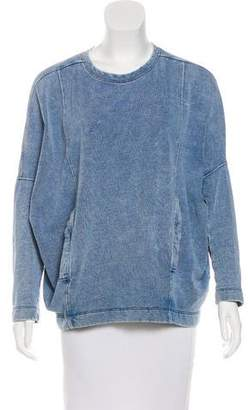 Helmut Lang Dolman Sleeve Crew Neck Sweatshirt
