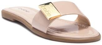 Bebe Lania Patent Slide Sandal