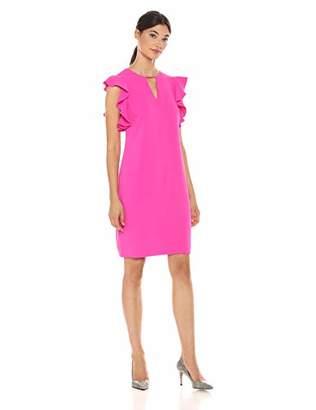 Trina Turk Trina Women's Hartley Cutout Front Shift Dress