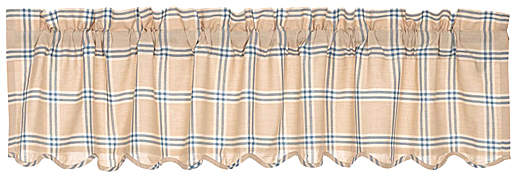 Azure Elaine Scalloped Valance