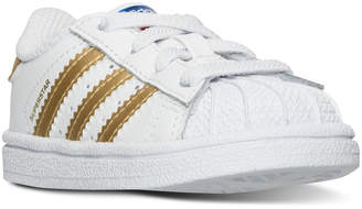 adidas Toddler Girls' Superstar Casual Sneakers from Finish Line $44.99 thestylecure.com