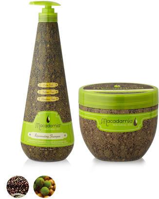 Macadamia Natural Oil MNOラージサイズセット (シャンプー+ヘアトリートメントマスク)