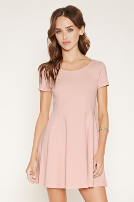FOREVER 21 Scalloped Skater Dress $12.90 thestylecure.com
