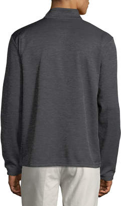 Callaway Men's Long-Sleeve Snap-Front Fleece Sweater